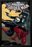 The Amazing Spider-Man No.577 Cover: Spider-Man and Punisher Prints by Paolo Rivera