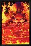 New Mutants No.8 Cover: Magma Posters by Adam Kubert