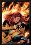 X-Men: Phoenix - End Song No.3 Cover: Phoenix and Wolverine Affiche par Greg Land