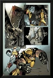 X-Men No.2: Wolverine and Colossus Fighting Posters by Paco Medina