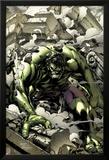 Incredible Hulks No.621 Cover: Hulk Smashing Posters by Carlo Pagulayan