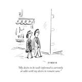 Cartoon Premium Giclee Print by David Sipress