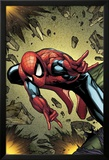 Amazing Spider-Man Annual No.38 Cover: Spider-Man Jumping Print by Steve MCNiven