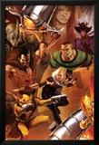 The Amazing Spider-Man No.643 Cover: Shocker, Kraven the Hunter, Sandman, Rhino, and Ana Kravinoff Affiches par Marko Djurdjevic