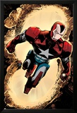 Secret Avengers 3 Cover: Iron Patriot Posters av Tomm Coker
