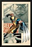 Savage Wolverine 5 Cover: Wolverine Planscher av Frank Cho