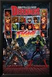 Fearless Defenders 5 Cover: Valkyrie, She-Hulk Poster av Mark Brooks