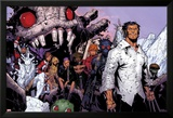 Wolverine & The X-Men No.3: Iceman, Kitty Pryde, Quentin Quire, Broo, Beast, Wolverine, and Others Posters af Chris Bachalo