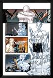 Origins of Marvel Comics: X-Men No.1: Iceman Standing Prints by Pablo Raimondi