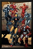 Iron Man 15 Featuring Iron Man Art by Carlo Pagulayan