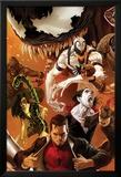 Amazing Spider-Man No.642 Cover: Peter Parker, Scorpion, Morbius, Rhino, and Anti-Venom Standing Affiches par Marko Djurdjevic