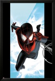 Ultimate Spider-Man No.1 Cover: Spider-Man Swinging Prints by Kaare Andrews