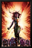 What If Avx 3 Cover: Summers, Hope, Thor, Spider-Man, Wolverine, Cyclops, Phoenix, Storm Poster par Jorge Molina