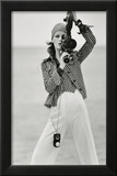 Vogue - April 1972 Framed Print Mount by Gianni Penati