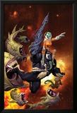 Venom: Spaceknight 1 Cover Featuring Venom Posters av Ariel Olivetti