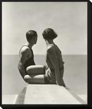 Vogue - July 1930 Framed Print Mount by George Hoyningen-Huené