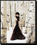 Vogue - October 1999 Framed Print Mount by Arthur Elgort