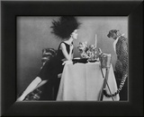 Vogue - November 1960 Framed Print Mount by  Leombruno-Bodi
