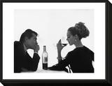 Vogue - April 1962 Framed Print Mount by Bert Stern