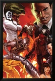 The Amazing Spider-Man No.644 Cover: Norman Osborn, Lizard, Menace, and Mister Negative Posing Posters par Marko Djurdjevic