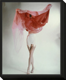 Vogue - February 1953 Framed Print Mount by Erwin Blumenfeld