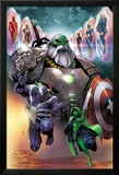 Contest of Champions 1 Cover with Maestro, Venom, Gamora, Iron Man, Thor (Female) & More Prints by Paco Medina
