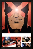 Uncanny X-Men 3 Featuring Cyclops Poster af Chris Bachalo