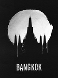 Bangkok Landmark Black Plastic Sign by  NaxArt