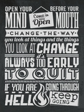 Change Set Grey Plastic Sign by  Vintage Vector Studio