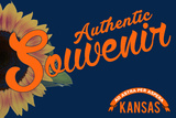 Visited Kansas - Authentic Souvenir Plastic Sign by  Lantern Press