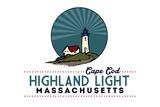 Cape Cod - Highland Lighthouse Plastic Sign by  Lantern Press