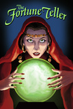 The Fortune Teller Plastic Sign by  Lantern Press