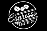 Espresso Roaster Co. (black) Plastic Sign by  Lantern Press