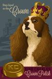 King Charles - Retro Polish Ad Plastic Sign by  Lantern Press