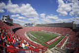 Wisconsin: Blue Skies over Camp Randall Photographic Print by Aaron Gash