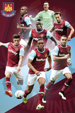 West Ham- Players 15/16 Poster