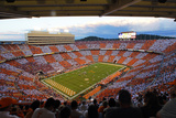Checkered Neyland Stadium Fotodruck von Wade Payne
