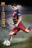 Barcelona- Suarez Action 15/16 Plakaty