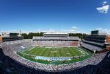 Blue Skies over Kenan Stadium Fotografisk tryk af Streeter Lecka
