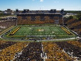 Missouri: Memorial Stadium Striped Photographic Print by L.G. Patterson