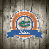 Florida Gators Logo on Wood Prints by  Lulu
