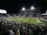 Game Night at Spartan Stadium Photographic Print by Al Goldis