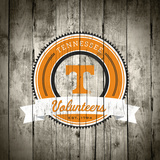 Tennessee Volunteers Logo on Wood Posters by  Lulu