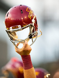 Iowa State Football Helmet - All In Fotografisk trykk av Justin Hayworth