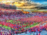 Arizona: Victory at Arizona Stadium Fotografisk trykk
