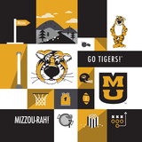 Missouri Tigers Collage Photo by  Lulu