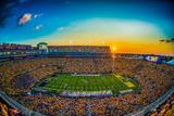 LSU: Sunset at Tiger Stadium Reprodukcja zdjęcia
