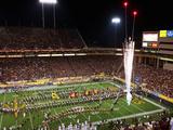 Arizona State: Pregame at Sun Devil Stadium Fotografisk tryk af Christian Petersen