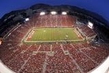 Utah: Game Night at Rice-Eccles Stadium Fotografisk tryk af Rick Bowmer