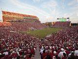 Oklahoma: Memorial Stadium Fotografisk tryk af Brett Deering